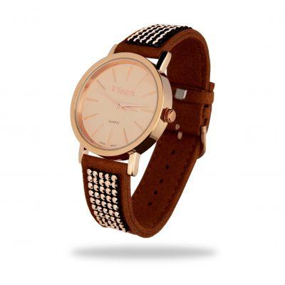 Женские часы Spark «Jupiter» со Swarovski (розовый металл)