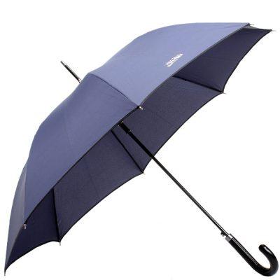 Зонт-трость Jean Paul Gaultier синего цвета
