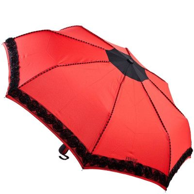 Красный зонт-автомат Ferre