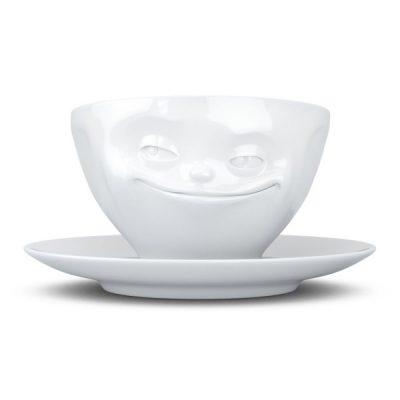 Чашка с блюдцем для эспрессо «Grin»