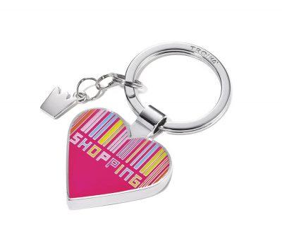 Брелок «I love shopping» Troika