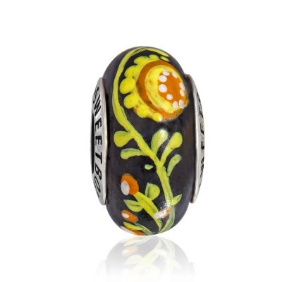 Бусина «Украинский сувенир» в серебре