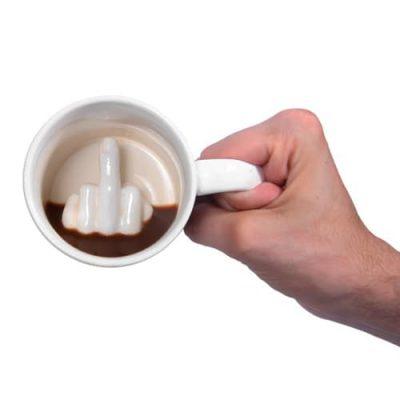 Чашка «Up Yours Mug» Thumbs Up