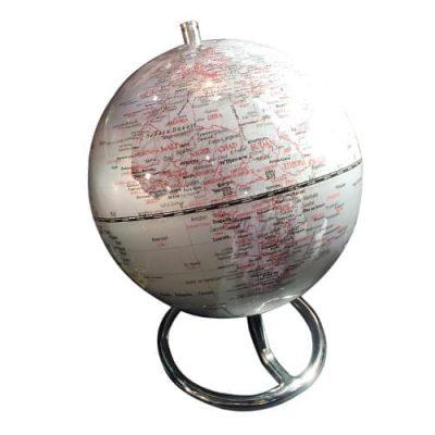 Глобус настольный «Globe Silver»