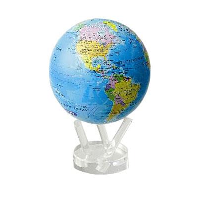Глобус самовращающийся «Политическая карта» Mova