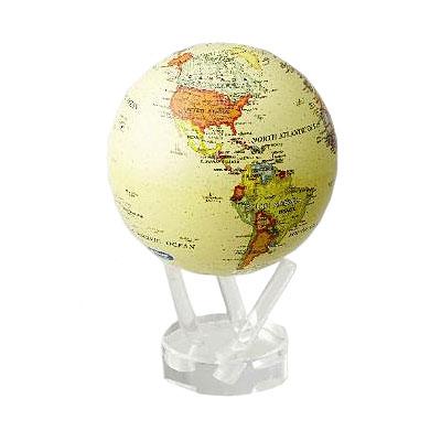 Глобус самовращающийся «Ретро карта» Mova