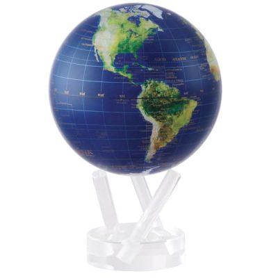 Глобус самовращающийся «Вид из космоса» MOVA