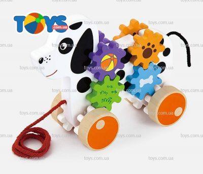 Игрушка-каталка Viga Toys «Щенок»
