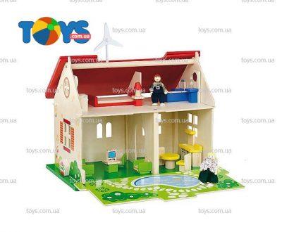 Деревянный кукольный домик Viga Toys