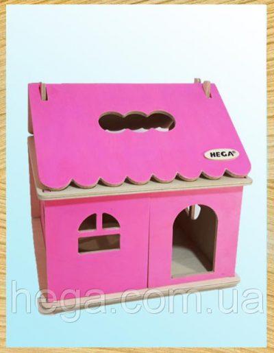Кукольный домик цветной