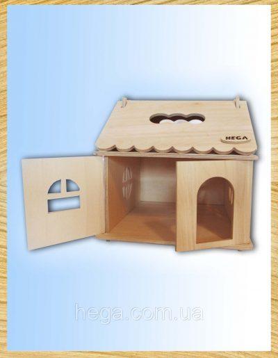 Кукольный домик для творчества Hega