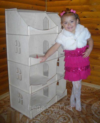 Кукольный домик-шкаф для творчества Hega