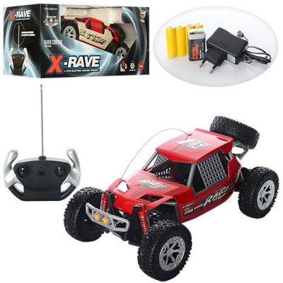 Машинка багги на радиоуправлении X-rave Hobby