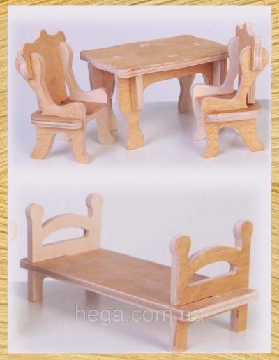Мебель для кукол ТМ «HEGA»