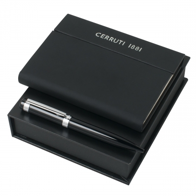 Набор: блокнот + ручка «Cerruti 1881» Distri-brands