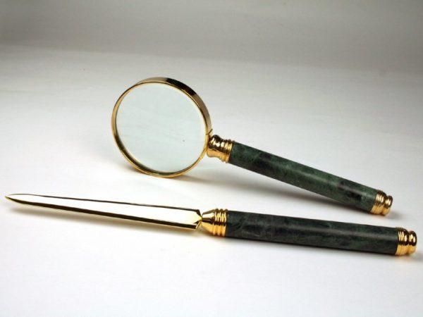 Офисный набор из 2 предметов «New Classical», зеленый