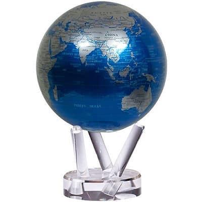 Оригинальный самовращающийся глобус «Политическая карта» MOVA