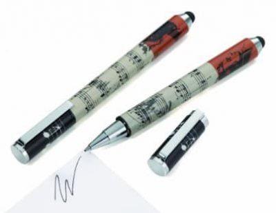 Ручка роллерная со стилусом «Combi stylus sinfonie»