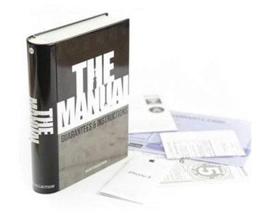 Сейф-книга «The Manual» Balvi