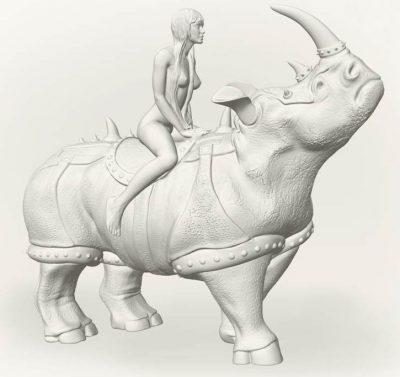 Статуэтка Victorio Rulechini «Дева»