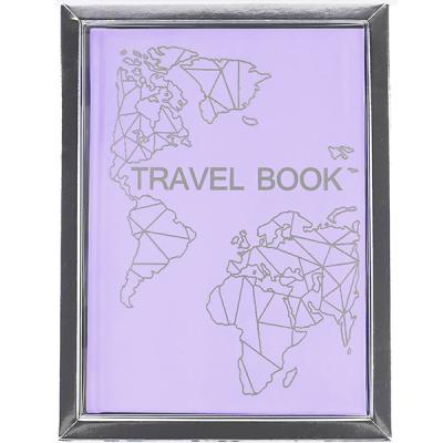 Блокнот планер Travel Book для путешествий (лаванда)