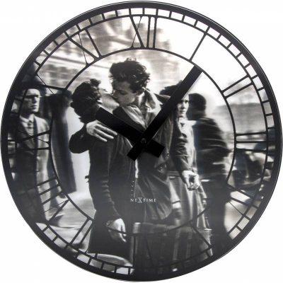 Часы настенные «Kiss me in Paris» NeXtime
