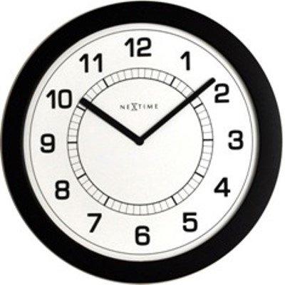 Часы настенные «Сверхтонкие», черные