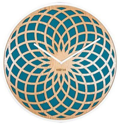 Часы настенные «Sun Small Turquoise»