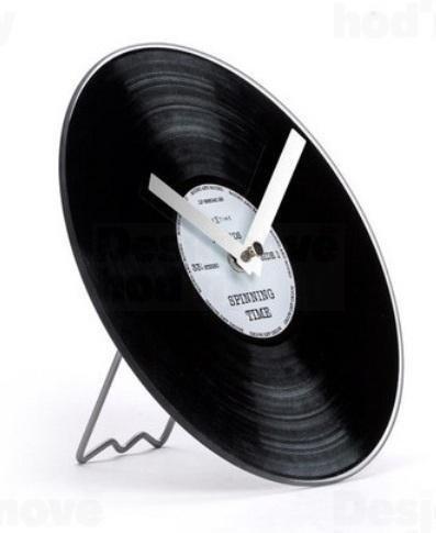 Часы настольные «Пластинка»