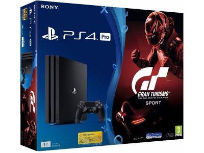 Игровая консоль Sony Playstation 4 PRO 1TB + игра Gran Turismo Sport