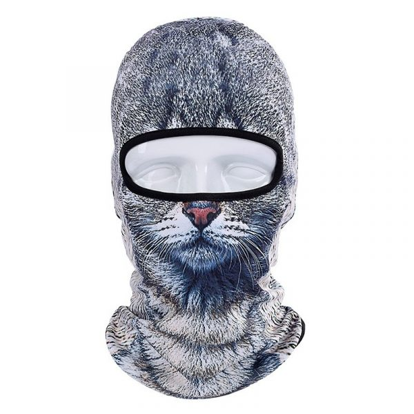 Лыжная маска (балаклава) в виде животных
