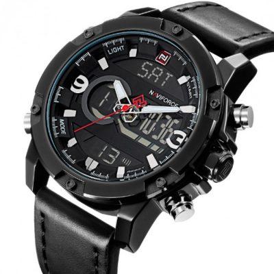 Мужские наручные часы Naviforce «№Kosmos Black»