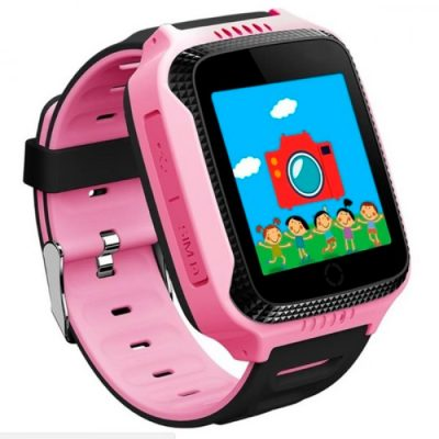Наручные детские часы Smart GPS T7 Purple