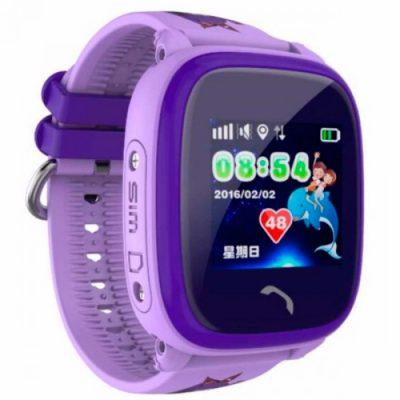 Детские наручные часы Smart GPS DF200 Water Purple