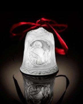 Новогодняя игрушка с подсветкой «Колокольчик»