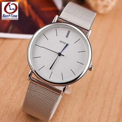 Наручные часы женские Geneva Steel Silver