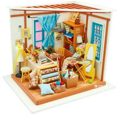 Кукольный домик Robotime «Cделай сам. Швейная мастерская»