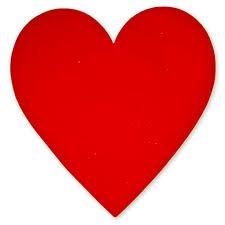 Баннер «Сердце» красное