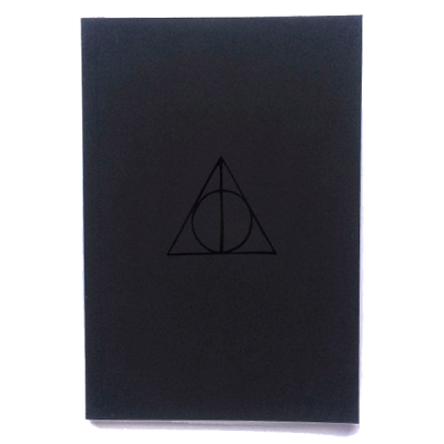 Скетчбук Pure Books А5 «Deathly Hallows»