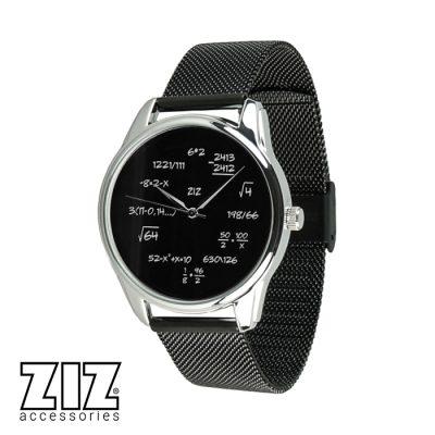 Часы наручные ZIZ «Математика», браслет из нержавеющей стали