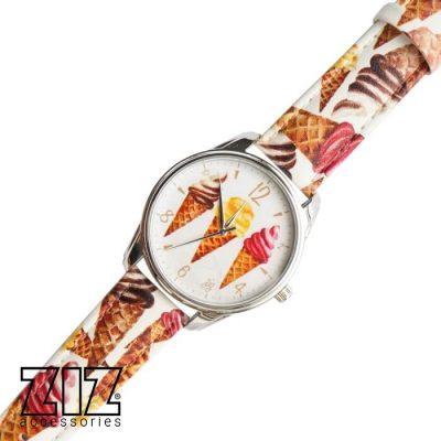 Часы наручные арт «Мороженое»