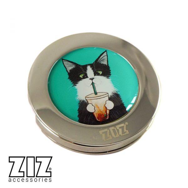 Держатель для сумки «Кот со стаканом» ZIZ