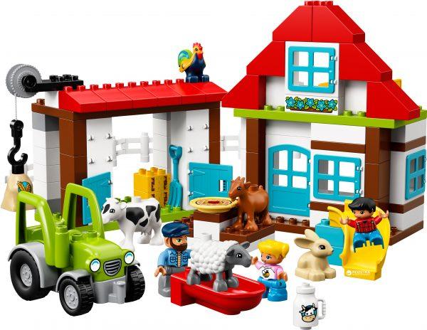 Конструктор LEGO «Приключения на ферме»