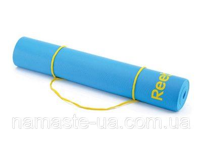Коврик для йоги Reebok (голубой)