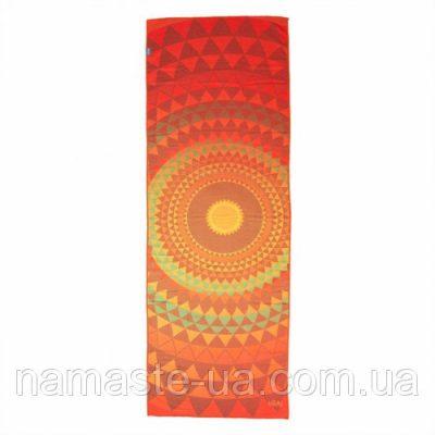 Коврик — полотенце для йоги «GRIP ART» Bodhi