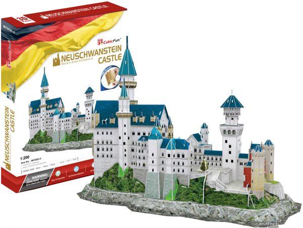 3D-конструктор CubicFun «Замок Нойшванштайн»