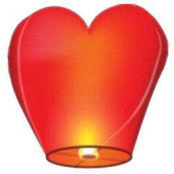 Небесных фонариков «Сердце»