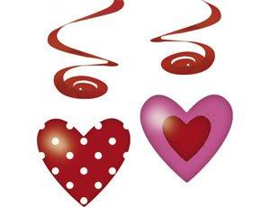 Декоративные украшения Спираль сердца
