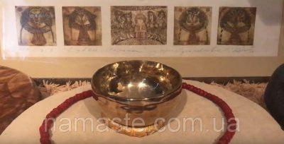 Тибетская поющая чаша (jn411)