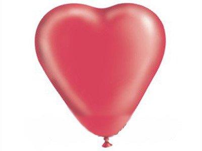 """Воздушный шар «Сердце» (пастель красный 10"""")"""